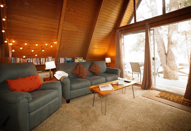 安適居所酒店, 大熊, 單棟房屋, 1 張加大雙人床及 1 張梳化床, 非吸煙房, 客廳
