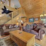 Μικρό Σπίτι, Περισσότερα από 1 Κρεβάτια, Ιδιωτική Πισίνα, Θέα στο Βουνό - Καθιστικό