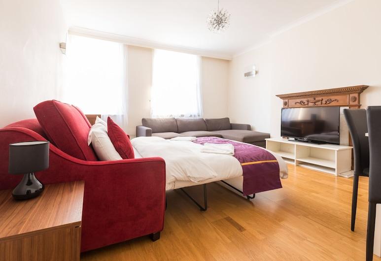 Belgravia Apartments - Grosvenor Gardens, London, Comfort House, 1 Bedroom, Room