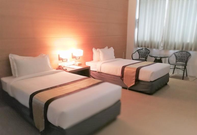 ヤマ ホテル & ルーフトップ バー, ヤンゴン, スタンダード ツインルーム, 部屋