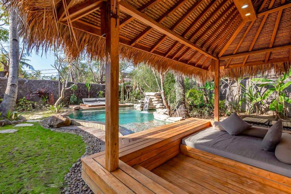 Luxury-Villa, 1 Schlafzimmer, Gartenblick, Poolseite (Private villa with Pool) - Privatpool