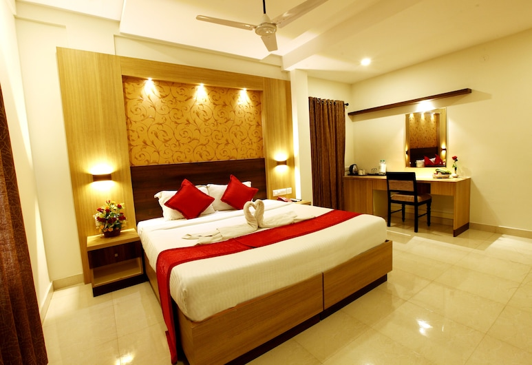 Prayana Hotels, Kochi, Deluxe Double Room, Accessible, Private Bathroom, Guest Room