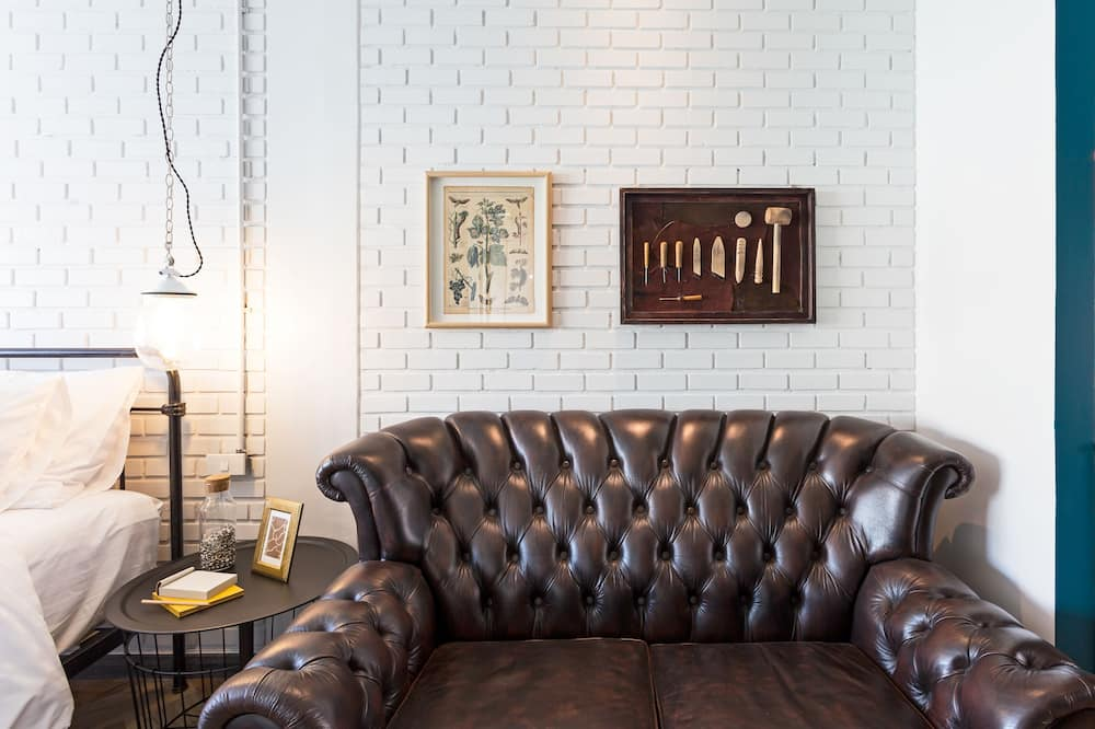 Deluxe Triple Room - אזור מגורים