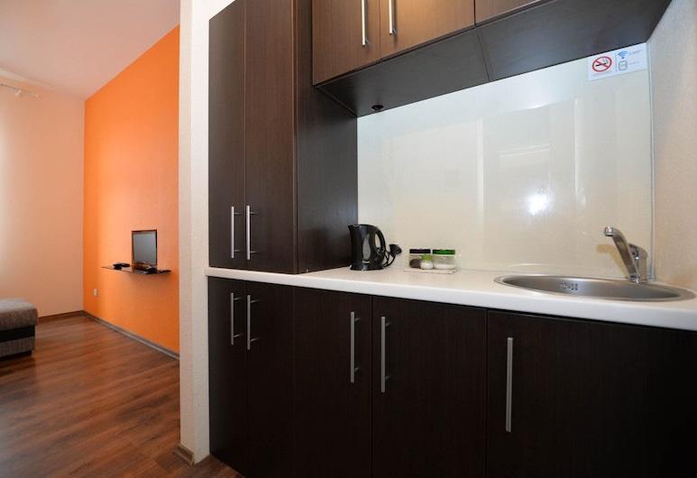 Orange Studio, Klaipeda, Economy Studio, Private kitchenette