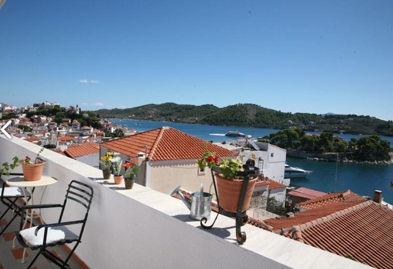 Mato Hotel, Skiathos, Double or Twin Room, City View, Balcony