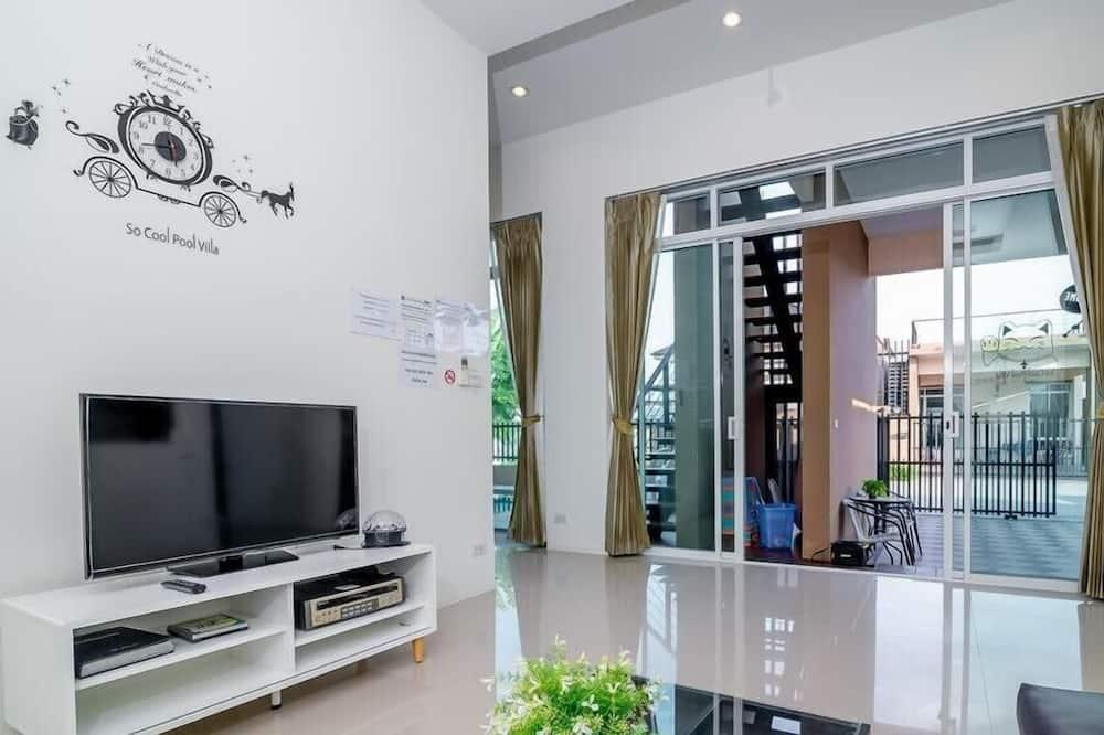 Three Bedrooms Private Pool Villa - Lõõgastumisala