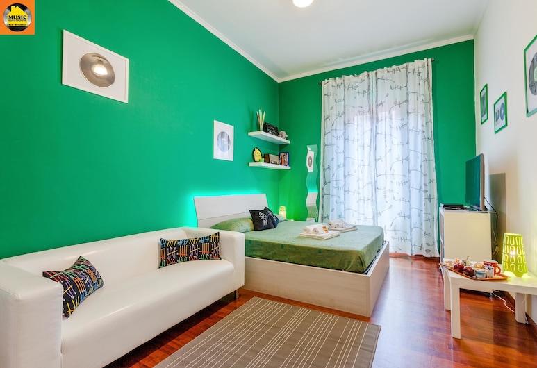 音樂旅館民宿, 羅馬, 舒適雙人房, 共用浴室, 客房