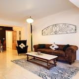 Familie appartement, 3 slaapkamers, Aan het strand - Woonkamer