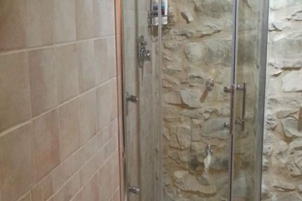 Chambre Double - Douche de la salle de bain