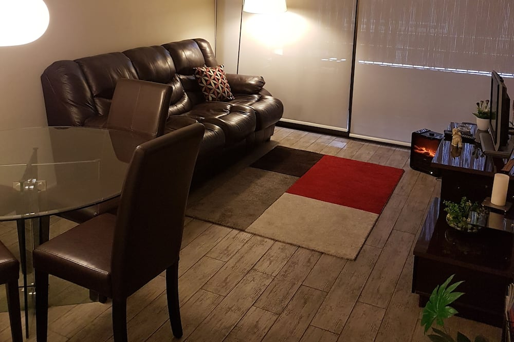 公寓, 1 張標準雙人床和 1 張沙發床 - 客廳