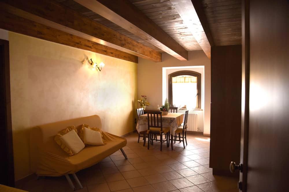 公寓, 1 間臥室, 花園景觀 - 客廳