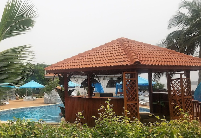 Hotel Akwa Beach, Assinie, Áreas del establecimiento