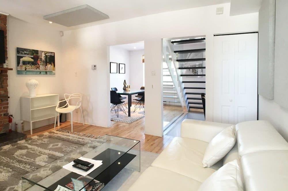 Duplex, Kitchen - Living Room