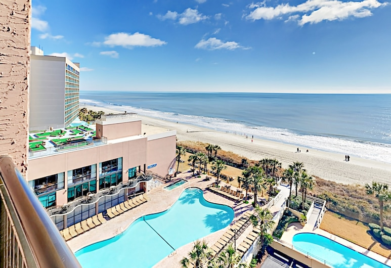 3br W/ Phenomenal Ocean Views & Water Park! 3 Bedroom Condo, Myrtle Beach