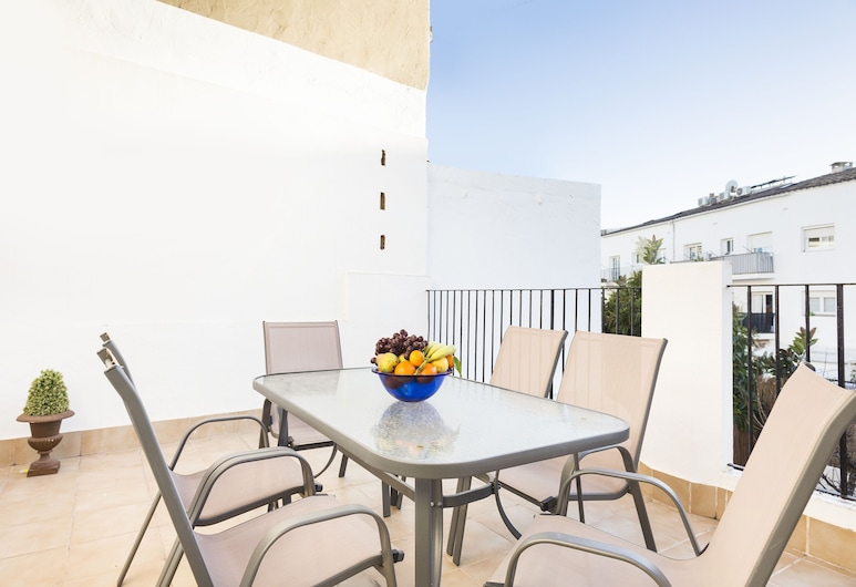Sitges Malvasia, Sitges, อพาร์ทเมนท์, 3 ห้องนอน, ระเบียง, ลานระเบียง/นอกชาน