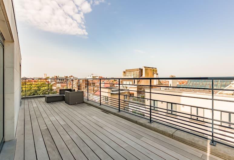 The Livorno, Brussels, Duplex, Terrace (6th floor), Terrace/Patio