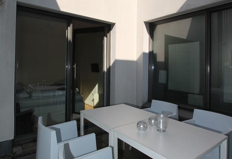 SANKT PETERSBURG Executive Suite, Leipzig, Exclusive Apartment, Terrace/Patio