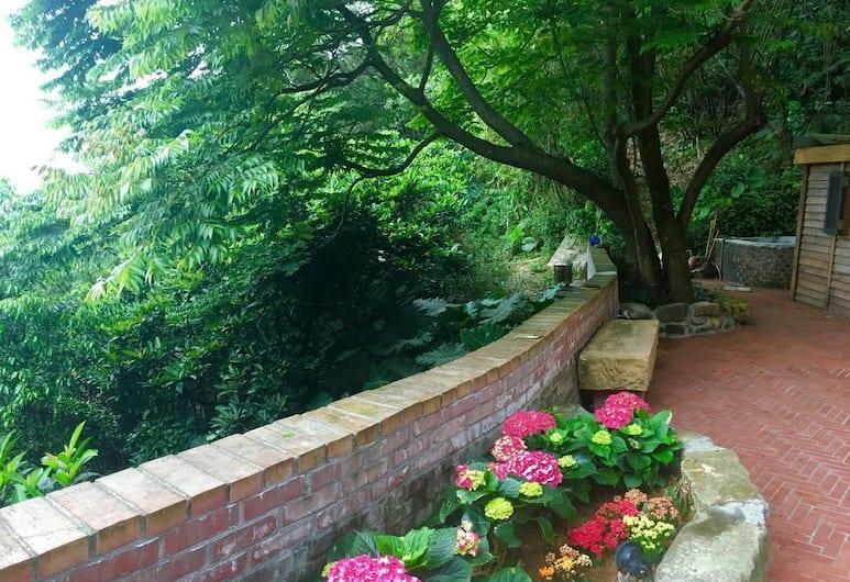 幸福驛, 新北市, 庭院