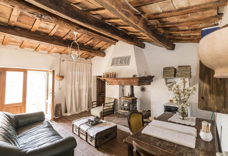 B&B Le Bumbarelle, Tavoleto, Habitación doble, baño privado, Sala de estar