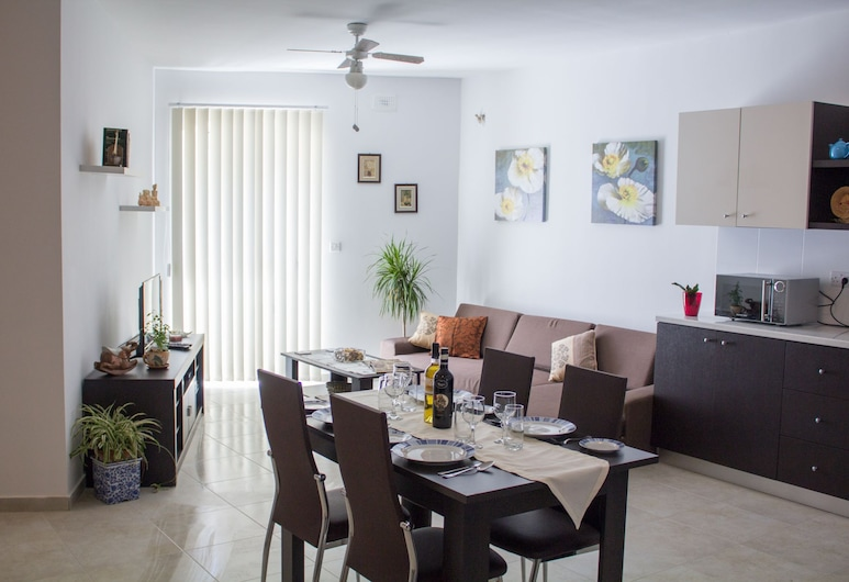 Ta Nina, Msida, Căn hộ tiện nghi đơn giản, 3 phòng ngủ, Phòng khách