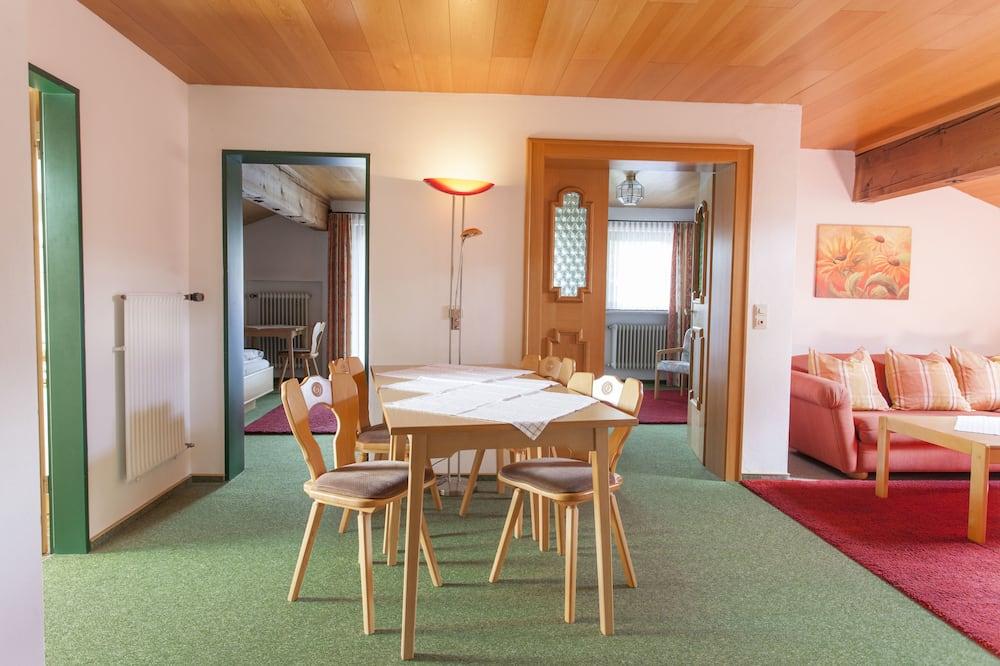 Apartamento, 2 habitaciones - Comida en la habitación