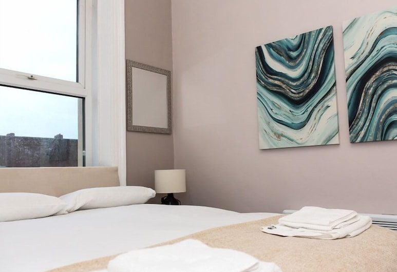 Alexander Apartments Alexandra House, גייטסהד, דירה, שירותים צמודים (Apartment B), חדר