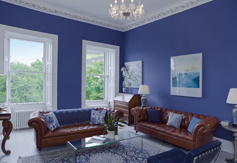 The Edinburgh Castle Suite, Edinburgh, Appartement, 3 slaapkamers, Woonruimte