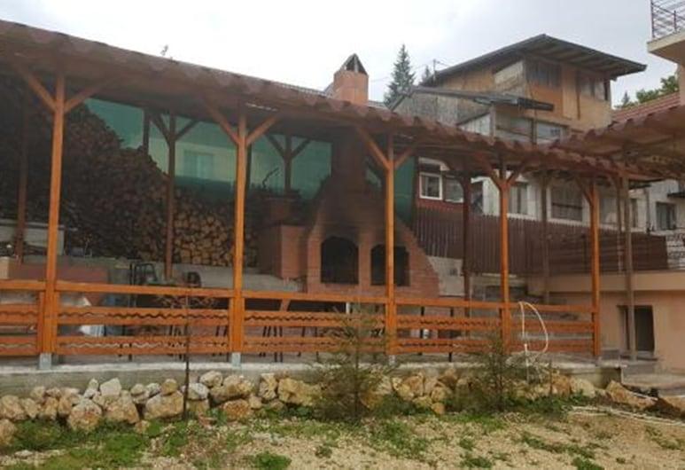 Pensiunea Alexandra, Predeal, Taras/patio