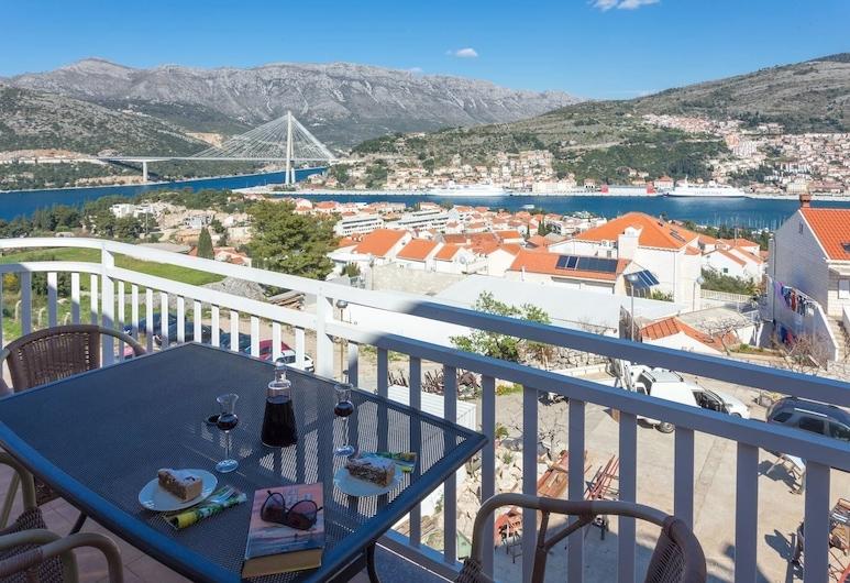 Burum Apartments, Dubrovnik, Apartamento, 2 quartos, Sacada (A5), Varanda