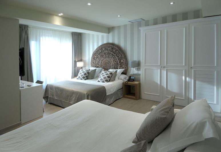 Serennia Exclusive Rooms, Barcelona, Suíte, Terraço, Vista para a cidade, Quarto