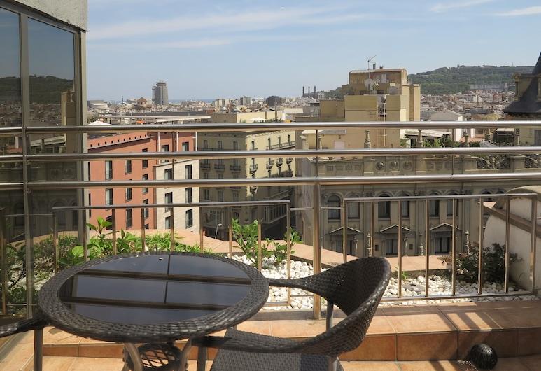 Serennia Exclusive Rooms, Barcelona, Suíte, Terraço, Vista para a cidade, Terraço/pátio
