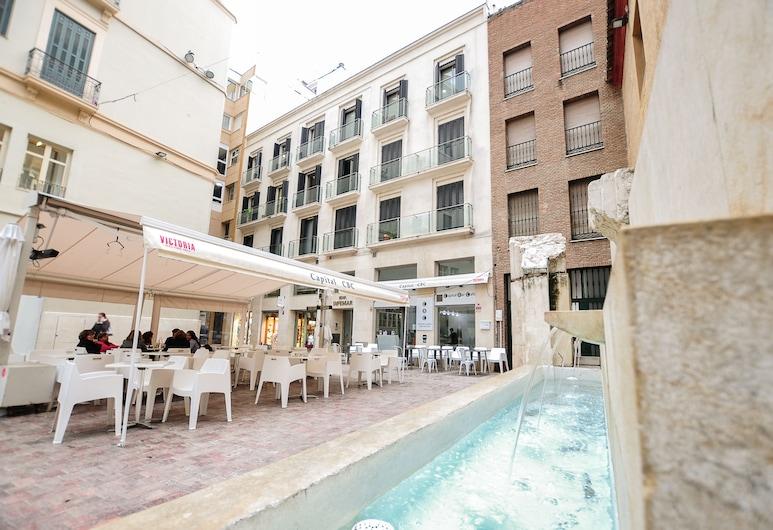 Renthas Plaza Flores Apartment, Málaga, Vista desde la propiedad
