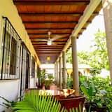 Traditionele studio suite, 1 kingsize bed - Balkon