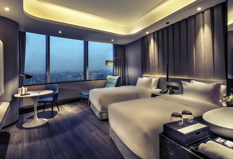 Mercure Hangzhou Qianjiang, Χανγκζού, Deluxe Δωμάτιο, 2 Μονά Κρεβάτια, Θέα στο Ποτάμι, Δωμάτιο επισκεπτών