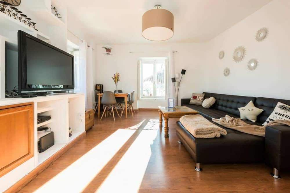 Appartamento, 2 camere da letto, vista città - Soggiorno