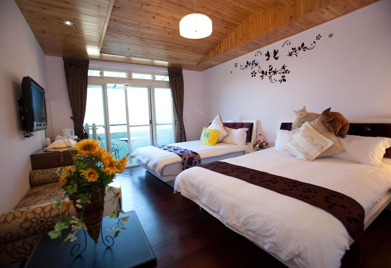 Qiao Yuan Bed and Breakfast, New Taipei City, Standard Quadruple Room, Guest Room