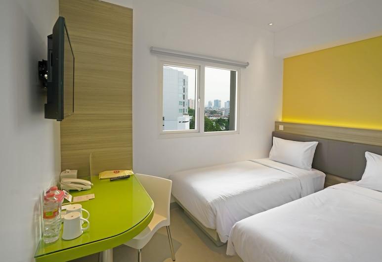 Amaris Hotel Fachrudin – Tanah Abang, Jakarta, Chambre Standard, 2 lits une place, Chambre