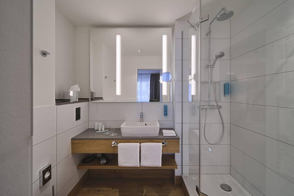 غرفة مزدوجة كلاسيكية (Alpin Doppelzimmer) - حمّام