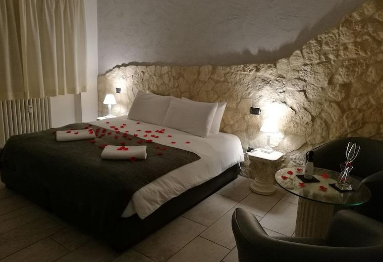 Mirabilia Guest House, Rom, Deluxe dubbelrum eller tvåbäddsrum, Gästrum