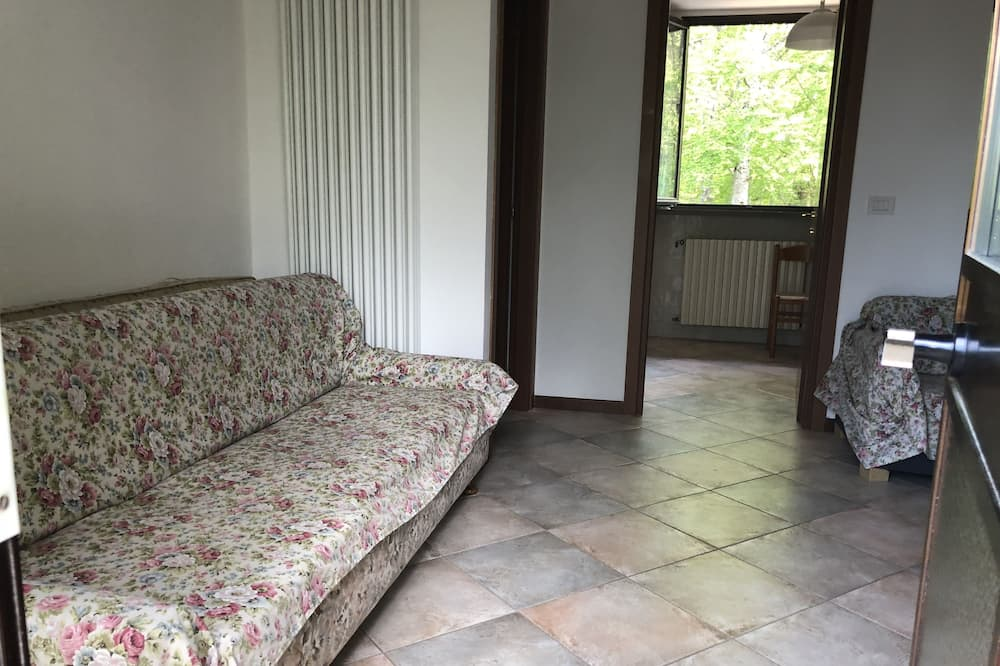 Exclusive Apartment, Balcony, Mountain View (1P) - Living Room