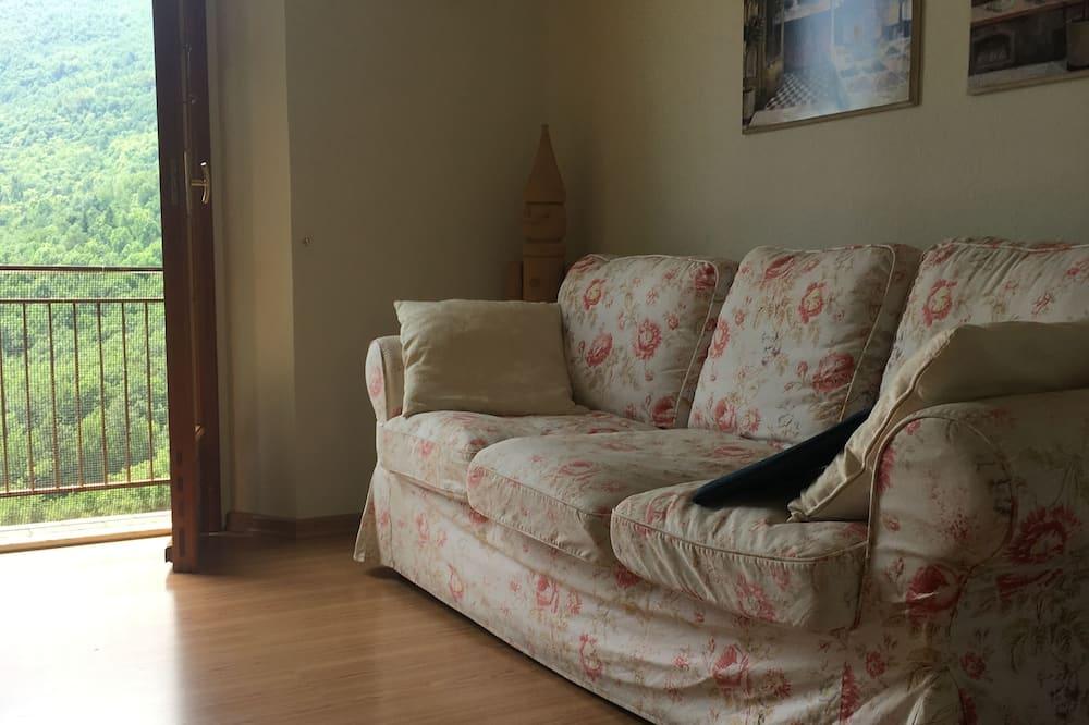 Exclusive House, 1 Queen Bed, Mountain View, Garden Area (CH) - Living Area