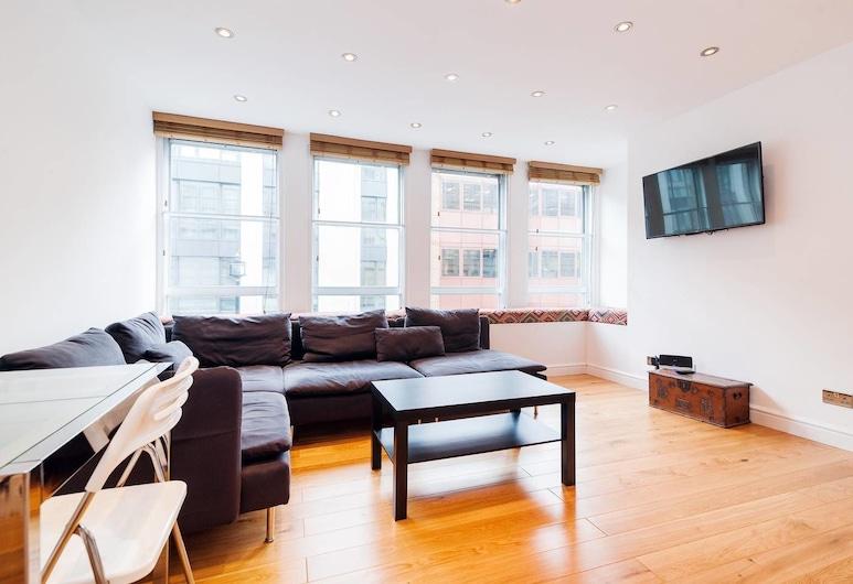 完美地點明亮新公寓酒店, 倫敦, 客廳