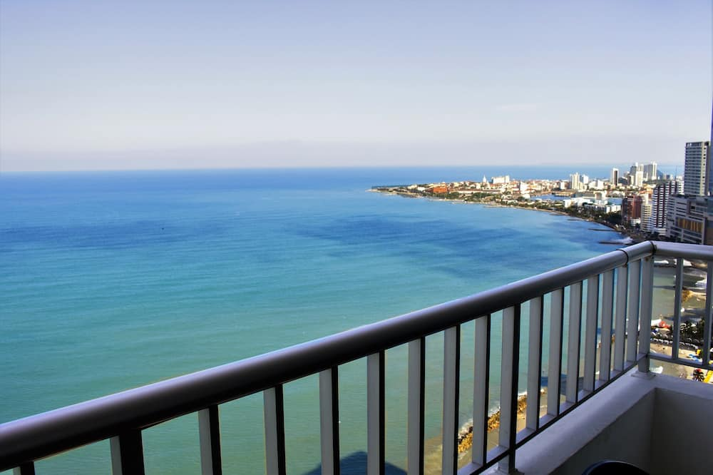 Standard Διαμέρισμα, 2 Υπνοδωμάτια, Θέα στη Θάλασσα (CTG117A) - Μπαλκόνι