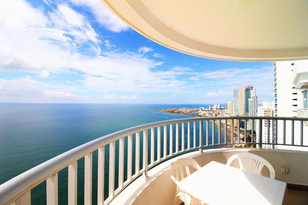 Standard Διαμέρισμα, 2 Υπνοδωμάτια, Θέα στη Θάλασσα (CTG126A) - Μπαλκόνι