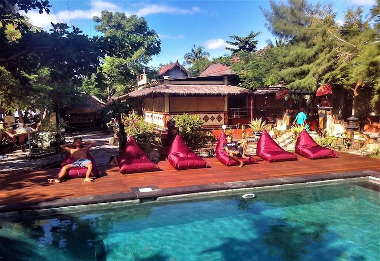 Villa Bulan Madu Gili Air , Gili Air, Outdoor Pool