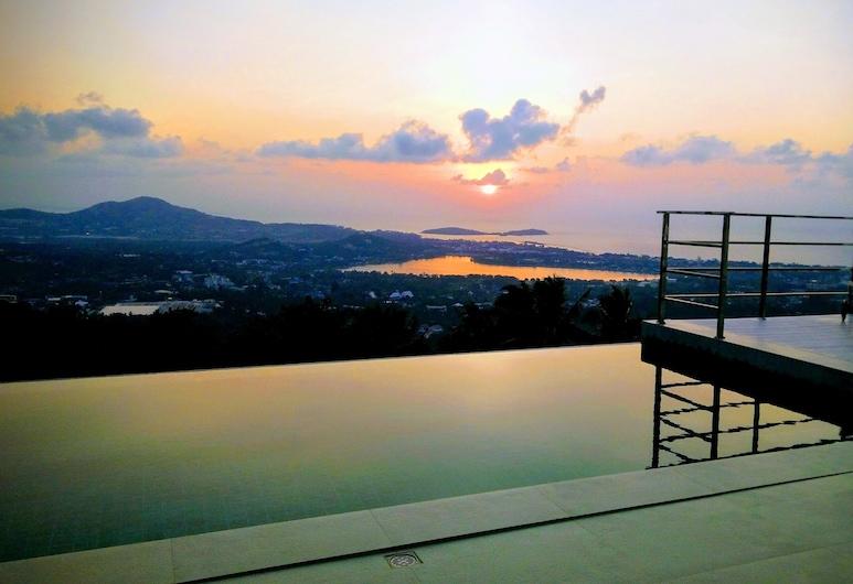 驚人海景完美別墅酒店, 蘇梅島, 泳池