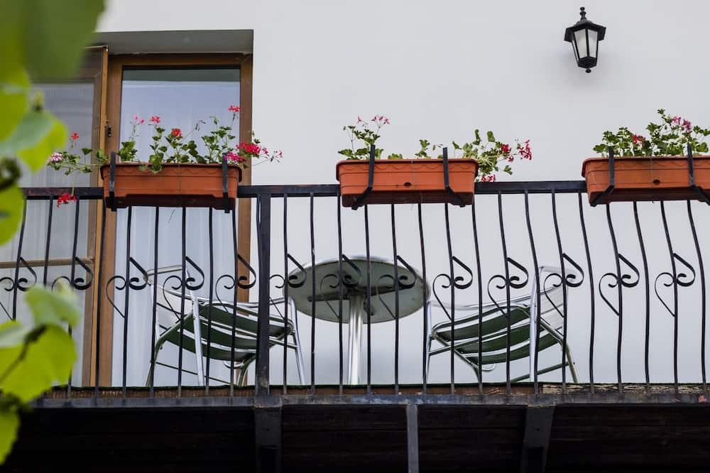 חדר סטנדרט זוגי, מרפסת, נוף לגן - מרפסת
