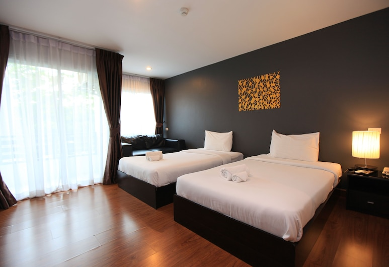 zZz Crest Chiang Mai, Chiang Mai, Chambre Deluxe, Chambre