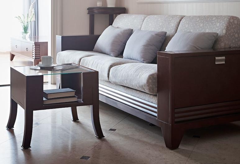Apartments Almandine, Prag, Deluxe Apart Daire, 2 Yatak Odası, Oturma Odası