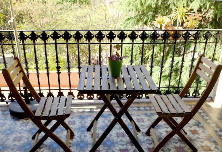 Fabrizzio's Petit, Barcelona, Dubbelrum - balkong (Shared Bathroom), Balkong